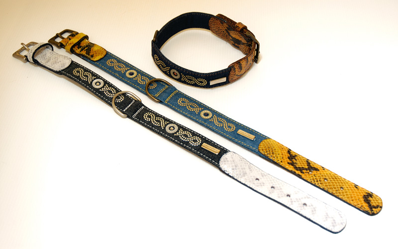 STARLIGHT LINE NEW MEXICO COLLAR (cm65 x 3=25.60 x 1.18 in)
